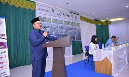 Bahas Investasi Syariah, Prodi Ekonomi Syariah STAI Ahsanta Seminar Nasional